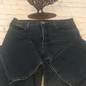Plus Size Blue Jeans
